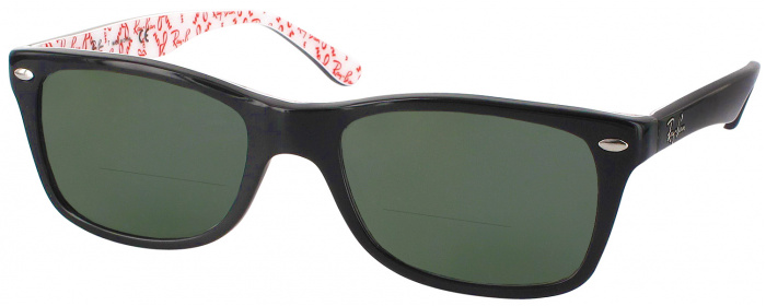 396eb0e8d1ee Top Black Ray-Ban 5228 Bifocal Reading Sunglasses - ReadingGlasses.com