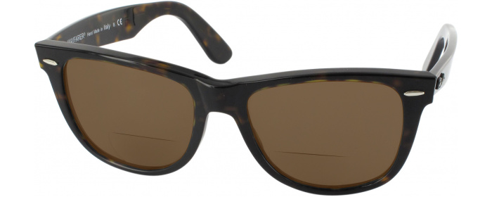 bb4924460e9 Tortoise Crystal Ray-Ban 2140L Polarized Bifocal Reading Sunglasses ...