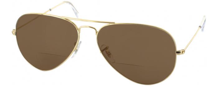 d4ece678c00 Arista Crystal Ray-Ban 3025 Polarized Bifocal Reading Sunglasses ...