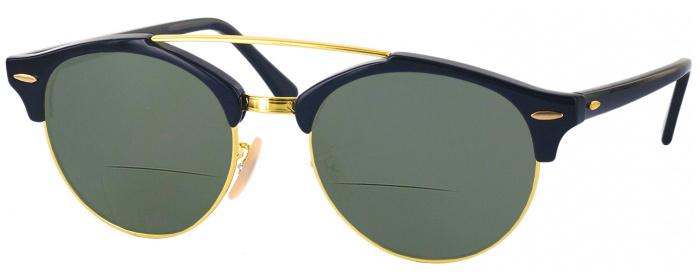 331561153a6 Black Ray-Ban 4346 Bifocal Reading Sunglasses - ReadingGlasses.com