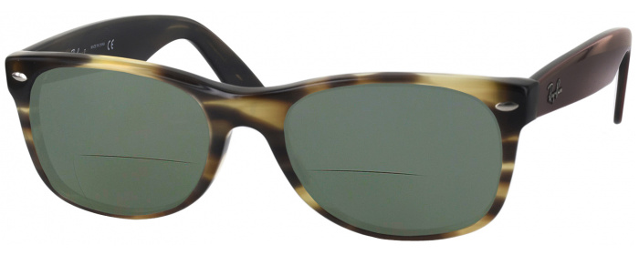 02b8c6796f59 Grey Havana Ray-Ban 5184 Bifocal Reading Sunglasses - ReadingGlasses.com