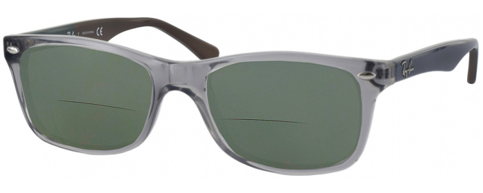 c33af1d0e998 Grey Ray-Ban 5228 Bifocal Reading Sunglasses - ReadingGlasses.com