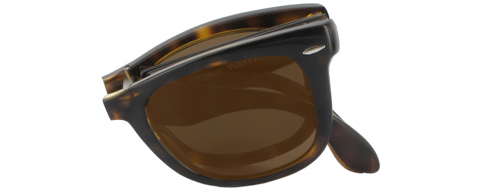 9a56d1900a Light Havana Ray-Ban 4105 No Line Reading Sunglasses ...