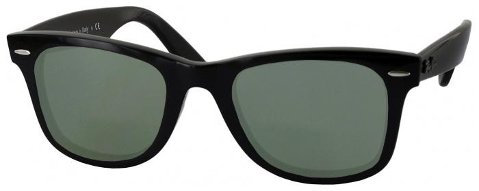 e699e93643 Shiny Black Ray-Ban 4340V Progressive No Line Reading Sunglasses ...