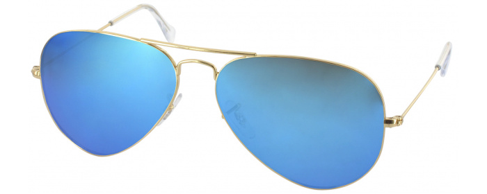 0ceefa57b252e Ray-Ban 3025L Progressive No Line Reading Sunglasses - Polarized with Mirror