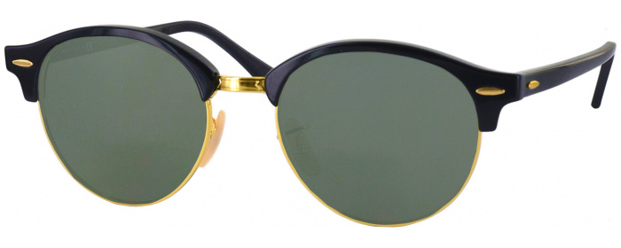 e0d80ca11b Black Ray-Ban 4246 Progressive No Line Reading Sunglasses -  ReadingGlasses.com