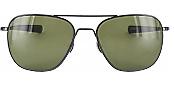 Shiny Hematite/555 Green Lens