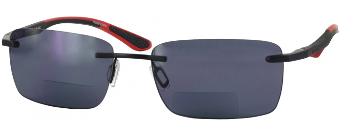 2ebf235b69 Black Tumi Richmond Bifocal Reading Sunglasses