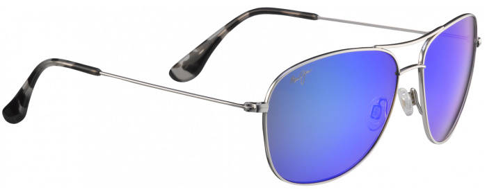 ae5d20cfb7f Silver Blue Hawaii Maui Jim Cliff House 247 - Polarized Sunglasses ...