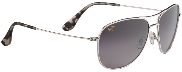 Gunmetal   Grey Lens Maui Jim Cliff House 247 - Polarized Sunglasses ... 9cc64b60a0a3