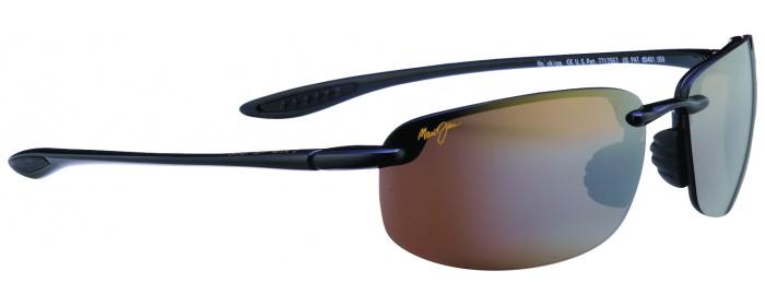ceeac4d3ebd0 Black   Bronze Lens Maui Jim Ho okipa 407 - Polarized Sunglasses ...