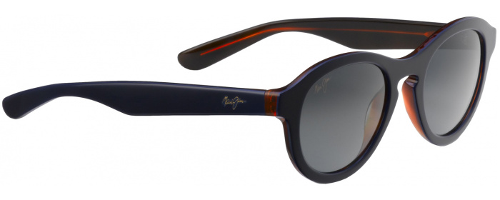 c0df1155a720 Blue w  rootbeer grey lens Leia 708 Sunglasses by Maui Jim ...