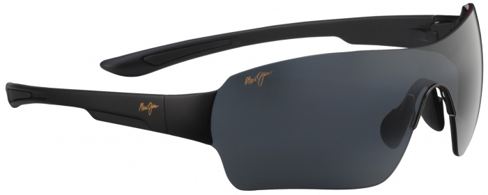 a809e21decb Matte Black Grey Lens Night Dive 521 Sunglasses Maui Jim ...