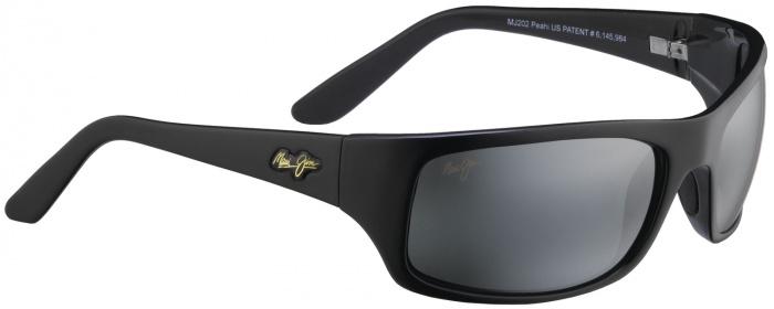 3addb52e3698 Black   Grey Lens Maui Jim Peahi - Polarized Sunglasses from Maui ...