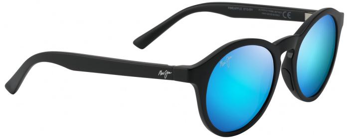 2b2c43e17ba Matte Black Blue Hawaii Pineapple 784 Sunglasses by Maui Jim ...