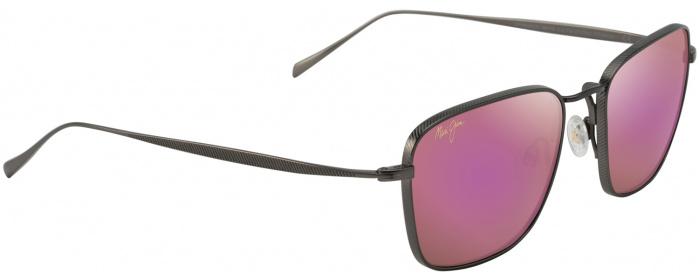 dc530be18c2c2 Slate Grey pink Mirror Spinnaker 545 Sunglasses by Maui Jim ...